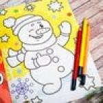 Наборы для детского творчества, раскраски