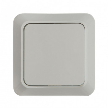 ASD/InHome BOLLETO выключатель ОУ 1 кл. 10А бел. (пласт. осн.) 7021