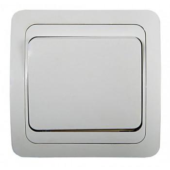 ASD/InHome CLASSICO выключатель СУ 1 кл. 10А бел. (керам. осн.) 2021