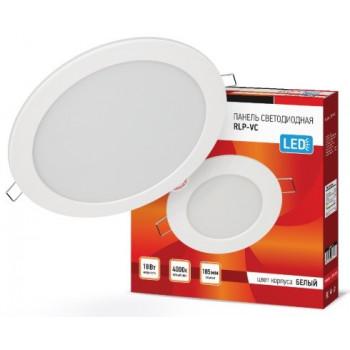 ASD/InHome светильник встраиваемый светодиодный даунлайт RLP-VC 18W(1440lm) 4000К 4K d185 белая (без пульсации) IP40 3373