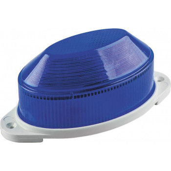 Feron Cветильник-вспышка (строб) 18LED 1,3W 220V синий IP54 112x55x50 STLB01 29896
