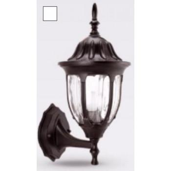 """Camelion 4501 светильник уличный/садовый """"бра вверх"""" белый 60W E27 220V алюминий/стекло IP43"""