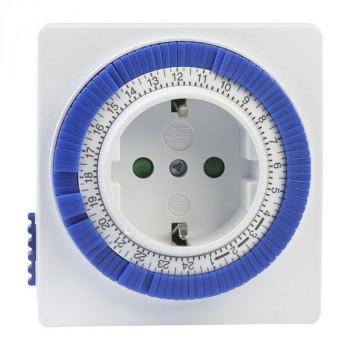 SmartBuy таймер розеточный SBE-STM1 механич. 3600W 96 вкл./выкл. сутки, интервал 15 мин
