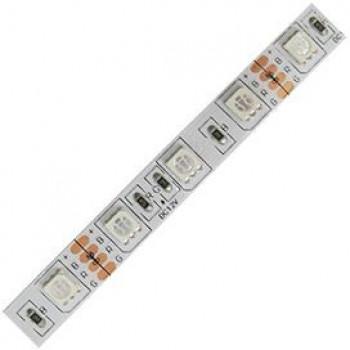 Ecola Лента светодиодная 12V 14.4W/m 60Led/m IP20 RGB 1м 1080Lm/m (интер) PRO SMD5050 P2LM1411B