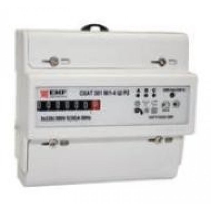 СКАТ 301М/1-4 Ш Р2 5(50)A счетчик электрической энергии 3ф EKF (1 шт в уп.)