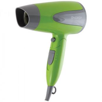 Фен Energy EN-836 1,6кВт, 2 режима, холодн. воздух, склад. ручка, зеленый 1238