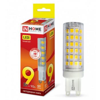 Лампа светодиодная ASD/inHome VC JCD G9 9W(810lm) 3000К 3K (без пульсации) 9925