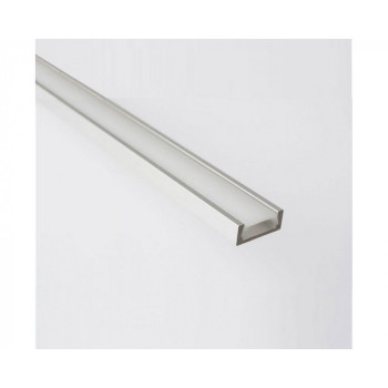 General алюминиевый профиль для светодиодной ленты комплект накл.+рассеив.+аксес. 2000х14x7мм алюм/поликарб (цена за шт.) 523500