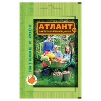 Атлант 10гр. (питание и рост, улучшение почвы) удобрение (аналог Байкала) Ваше Хозяйство