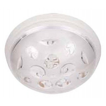 HOROZ УФО НАЗАР светильник настенно-потолочный E27 пластик. белый d230х82,5мм (уп.5шт.,цена за 1шт.) 400.002.101