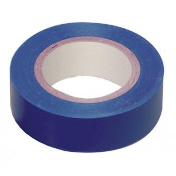 IEK Изолента ПВХ 15/10 0,13х15 мм синяя 10 метров UIZ-13-10-10M-K07
