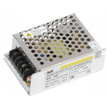 IEK Блок питания для светодиодных лент 12V 25W IP20 (интерьерный) LSP1-025-12-20-33-PRO