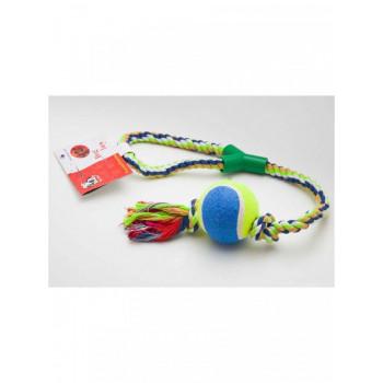 Игрушка для собак канатная с теннисным мячом, 53 см, R34312