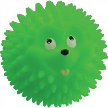 Игрушка для собак Мяч-ежик №6 6см Зооник, арт.16423