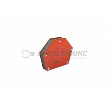 Магнитный угольник держатель для сварки на 6 углов усилие 34 Кг Rexant, 12-4833