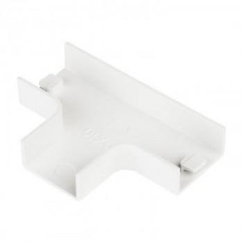 EKF Угол T-образный (100х40) (уп.2шт, цена за уп) Plast PROxima Белый tchw-100-40x2