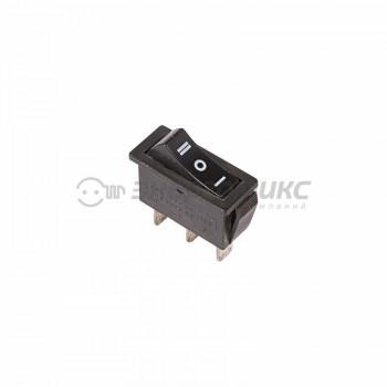 REXANT выкл. клавишный 250V 10А (3с) ON-OFF-ON черный с нейтралью (RWB-411, SC-791) (10!),36-2220