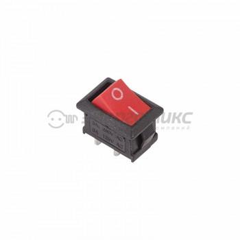 Rexant выкл клавишный 250V 6А (2с) ON-OFF красн. Mini (RWB-201, SC-768) (10!)36-2111