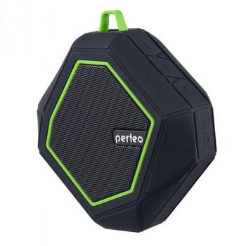 """Perfeo Bluetooth-колонка """"TRIBUTE"""" FM, MP3 microSD, AUX, мощность 6Вт, 1000mAh, черная PF_5208"""