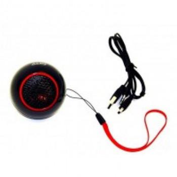 Портативная акустическя колонка L-PRO 409 HiFi, SD, красно-черная