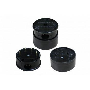 Штепсельный разъем РШ/ВШ ОУ 25А 380В для электроплит (4 конт., латунь, черный, карболит, земля) Витебск