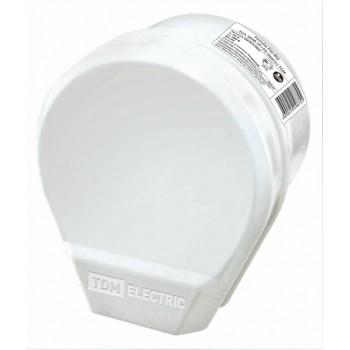 TDM штепсельный разъём РШ-ВШ 32А 250В 2Р+РЕ ОУ белый SQ1812-0003