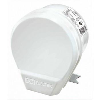 TDM штепсельный разъём РШ-ВШ 32А 250В 2Р+РЕ СУ белый SQ1812-0004