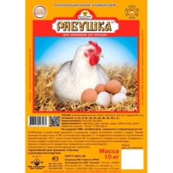 Премикс Рябушка для кур 150гр на 30 кг корма срок годности 18мес Агровит