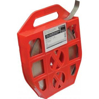 EKF PROxima Лента бандажная для СИП 0.7х20 мм, нерж. сталь, пл.корпус (50м, цена за м) f-2007.50