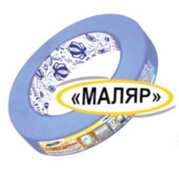 "Малярная лента (крепп скотч) 25/10, синий, Kroll ""Маляр"" для наружных и внутр. работ"