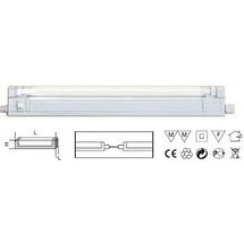 Navigator светильник люминесцентный A2 6W T4 G5 пластик закрытый NEL-A2-E106-T4-840/WH (30!) 94507