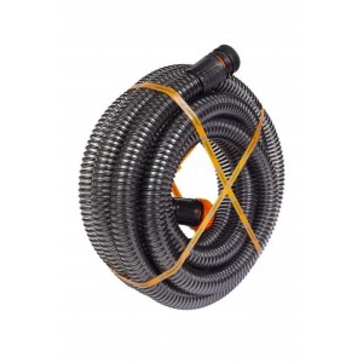 """Джилекс Шланг """"УЖ"""" 32-7,5 армированный(гиб.трубопровод),диам.32мм,дл.7,5м,5 бар,присоед.размер 1,1/2"""