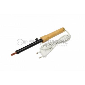 Паяльник ПД 25Вт/220В деревянная ручка, ЭПСН (Китай), 12-0225