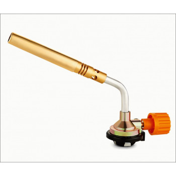 ON Горелка газовая, цанговый захват, узкое удлиненное сопло из латуни, 19,5х4х6см, 10-02-003