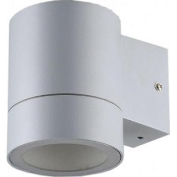 General светильник уличный, садовый, фасадный 1xGX53 прозр.цилиндр металл серый матов IP65 116x90x140 661136