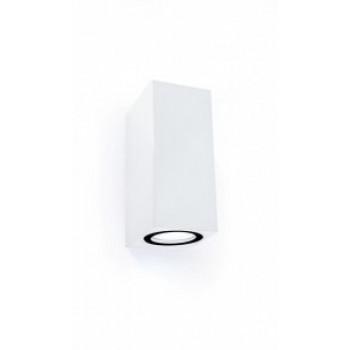 General светильник уличный, садовый, фасадный 2xMR16 прозр.квадрат металл белый IP65 150x80 661121