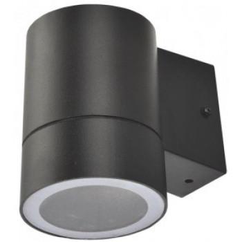 General светильник уличный, садовый, фасадный 1xGX53 прозр.цилиндр металл черный IP65 116x90x140 661133
