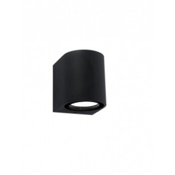 General светильник уличный, садовый, фасадный 1xMR16 прозр.круглый металл черный IP65 80x80 661126