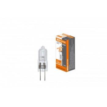Галогенная лампа TDM JC GY6.35 12V 50W прозрачная (20!) SQ0341-0063