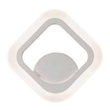 LEEK GRAFICA светильник-бра светодиодный 13W(1010lm) 2K-4K-6K 170х170х40 ARIS WHITE 020