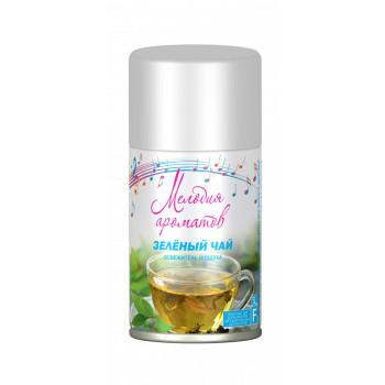 Освежитель воздуха (запасной блок) Зеленый чай 230мл Мелодия ароматов 33794 Сибиар