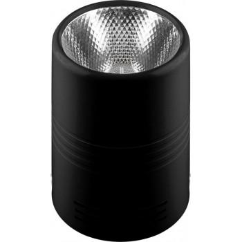 Feron светильник светодиодный накладной AL518, 10W, 800Lm, 4000K, 30 градусов, черный 29890