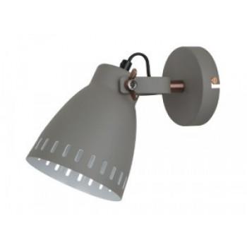 Camelion LOFT WML-428-1 С08 серый (Светильник настенный New York,1х E27, 40Вт, 230В, металл)