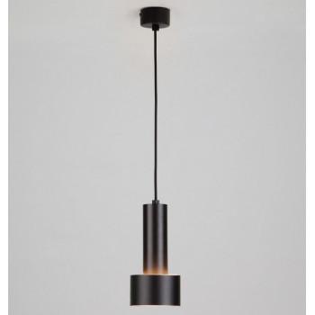 ES светильник светодиодный подвес спот 9W(420lm) 4K 50134/1 LED черный/золото 110х110х1153 84441