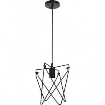HOROZ 021-011-0001 LOFT KEPLER декоративный светильник с патроном Е27 1м Складной Каркас Черный