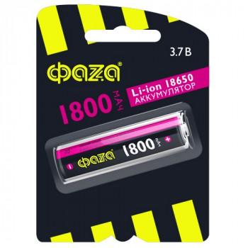 Аккумулятор ФАЗА 18650 Li-ion 1800mAh 3.7V BL1