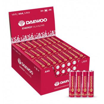 Батарейки Daewoo Energy Alkaline LR03/286 4S