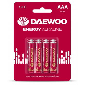 Батарейки Daewoo Energy Alkaline LR03/286 BL8