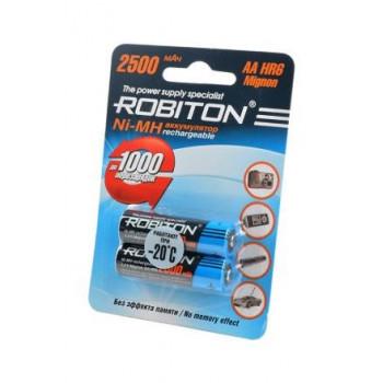 Аккумулятор Robiton R6 2500mAh Ni-MH BL2