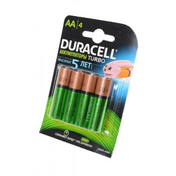Аккумулятор Duracell R6 HR6 2400/2500mAh BL4 ЗАРЯЖ